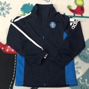 Boys Adidas Soccer Jacket